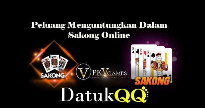 Peluang Menguntungkan Dalam Sakong Online